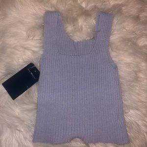 brandy melville knit shirt BNWT